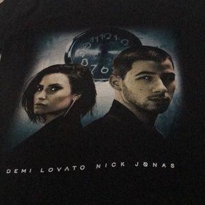 Demi Lovato Nick Jonas Tour Shirt